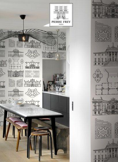 Attraktiv Tapete Palazzo Von Pierre Frey 2582 | Pinterest | Wanddesign, Tapeten Für  Küche Und Design Küchen