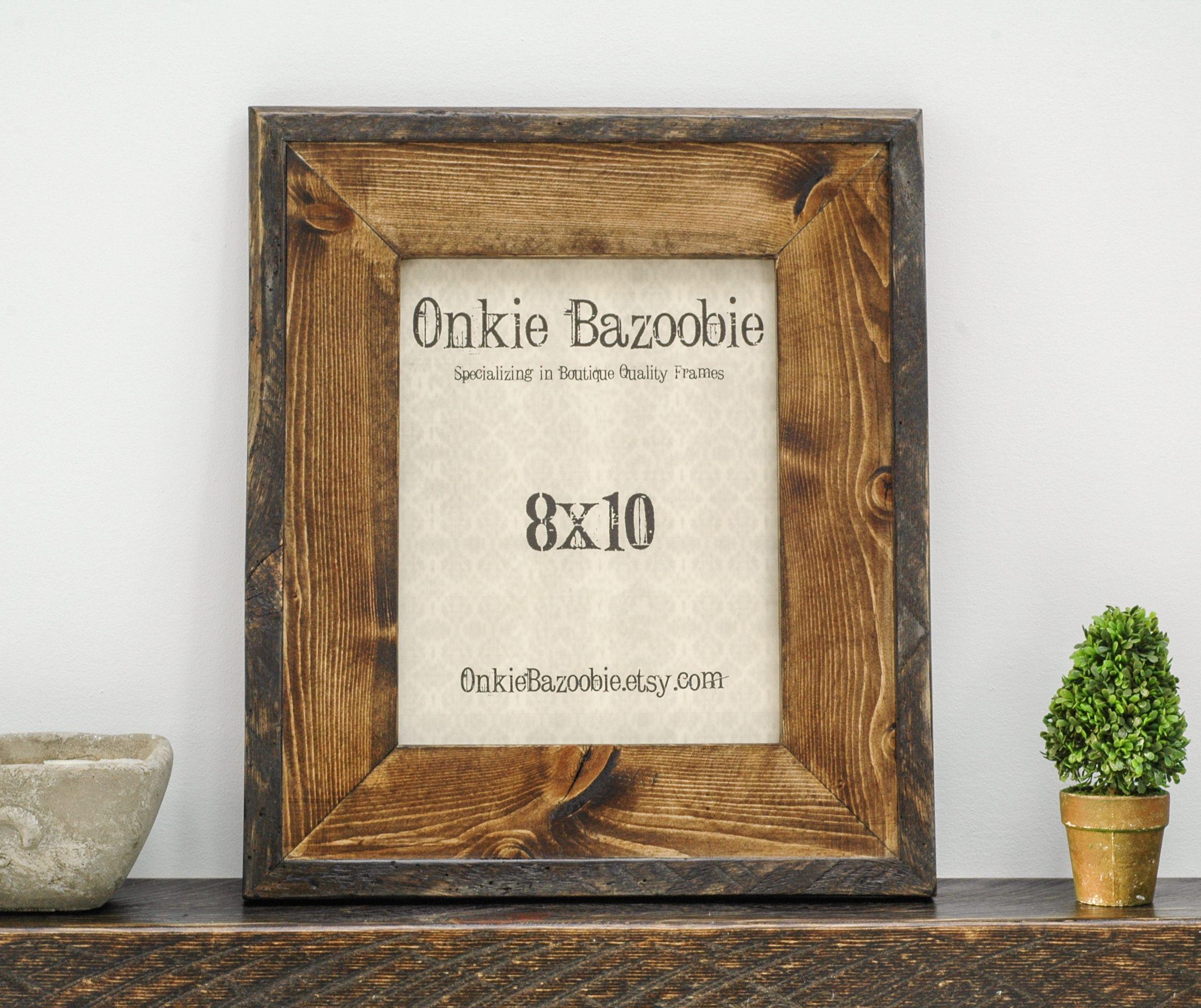 Pin de Onkie Bazoobie en Rustic Wood Picture Frames   Pinterest