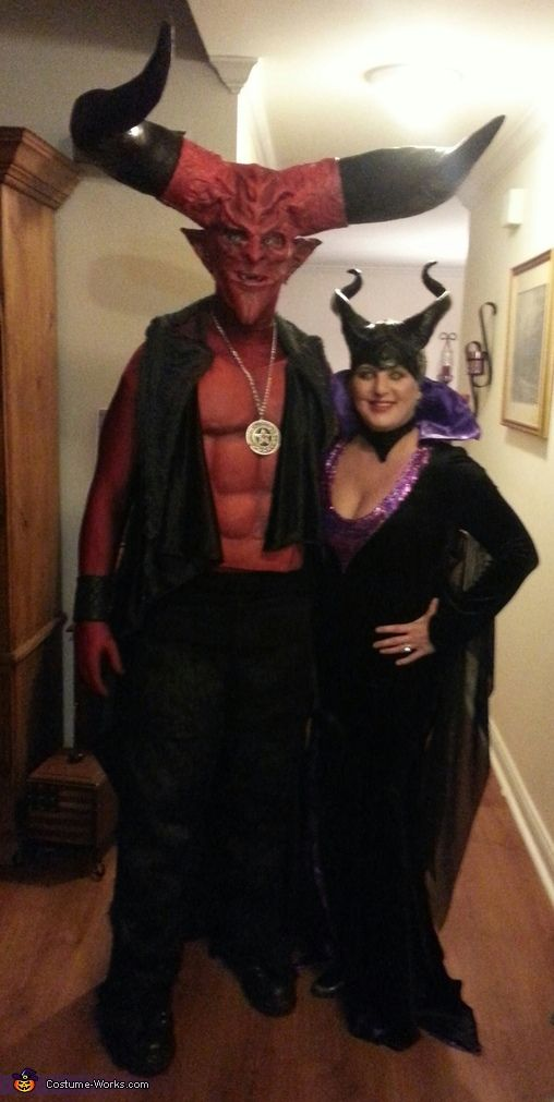 Nice Theresia: Mikes Costumes Came From The Movie Legend 1985 Theresia Cans From  The Angina Jolie Version Of Malificent. Photo 2 Of 2.