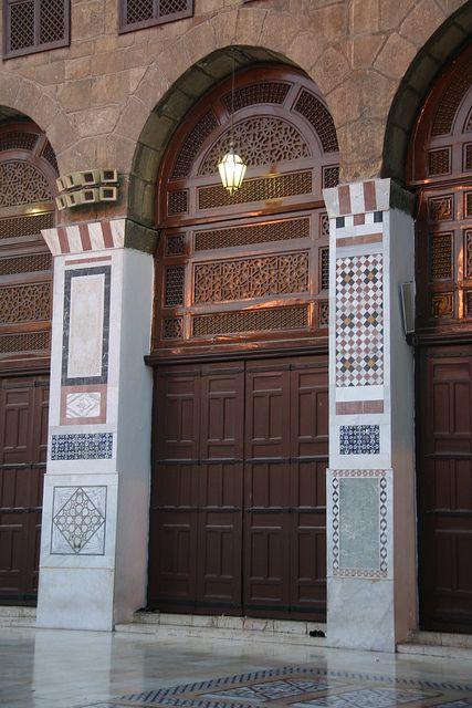 Damascus Syria Islamic Architecture Damascus Syria