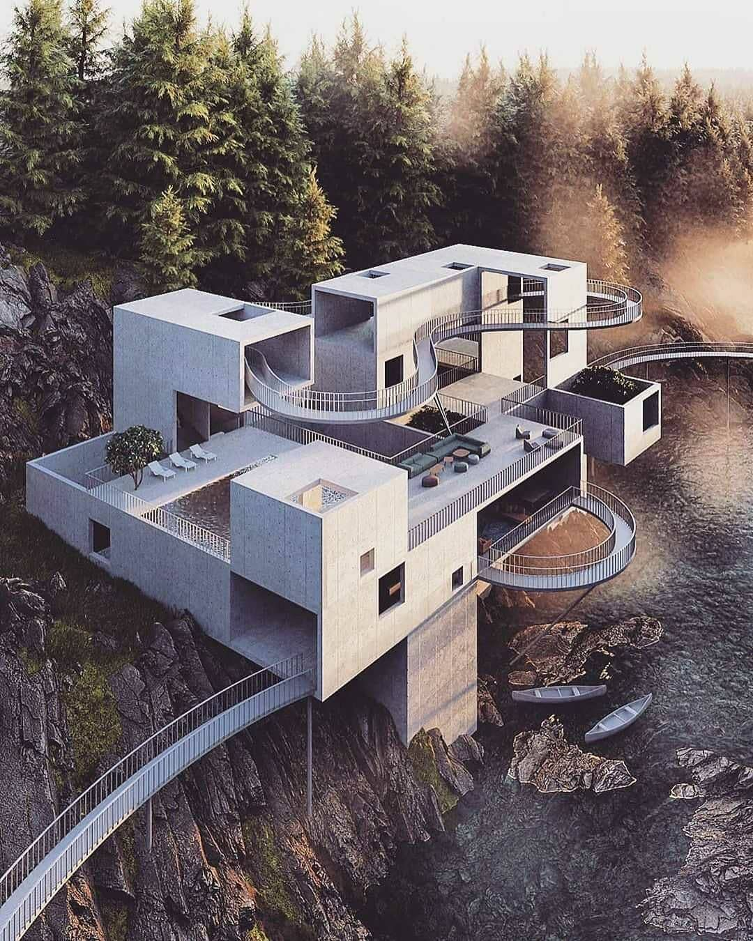 A Forest Goliath Do You Think This Concept Could Work And Why Let Us Know Your Opinion In 2020 Architecture Amazing Architecture Concept Architecture
