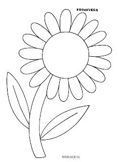 La Maestra Linda Primavera Da Colorare Schede Primavera