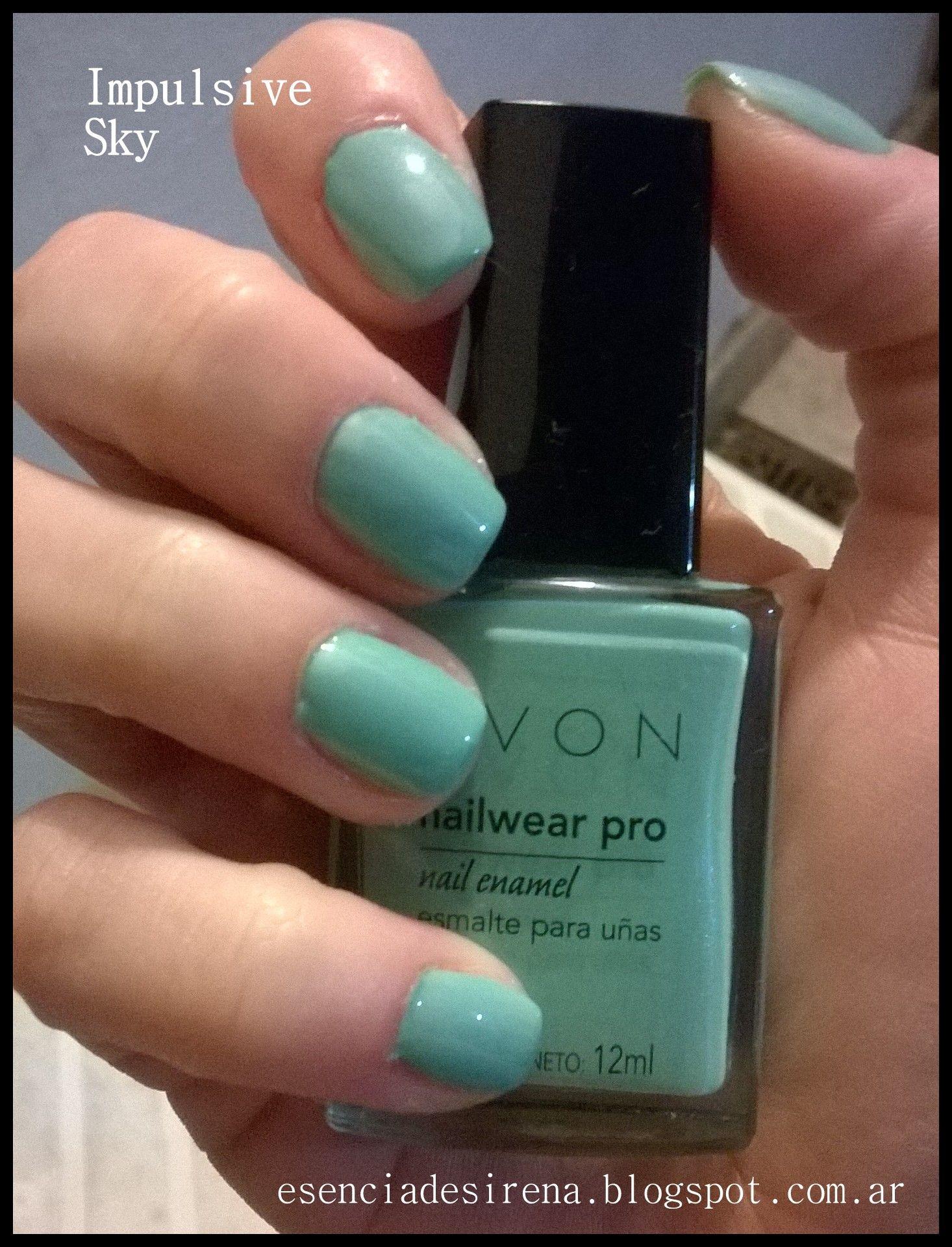 Pin De Esenciadesirena En Avon True Color Nail Wear Pro Avon Y