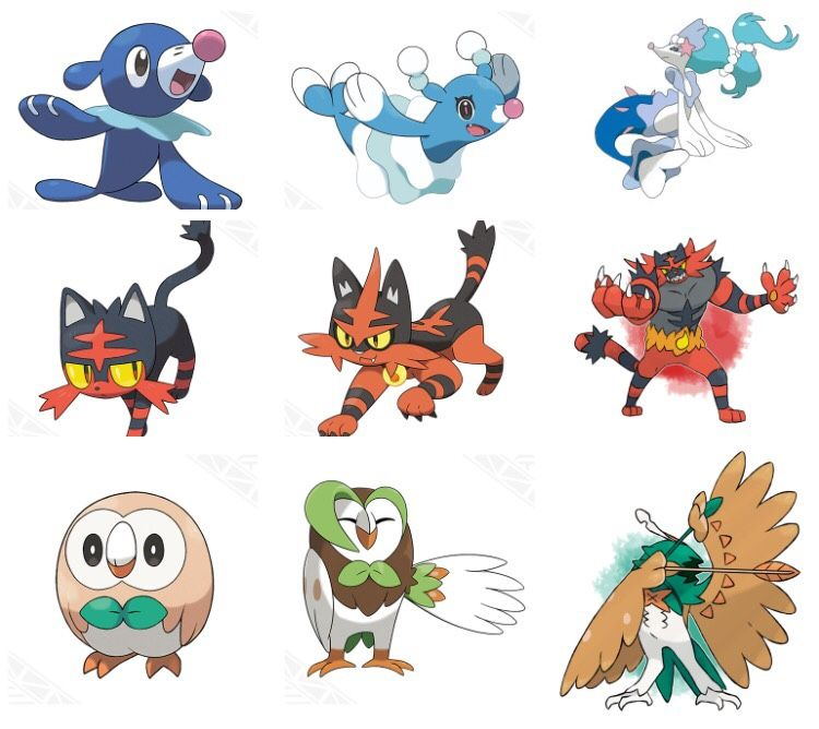 These Fan Made Pokemon Sun And Moon Starter Evolutions Will Put A
