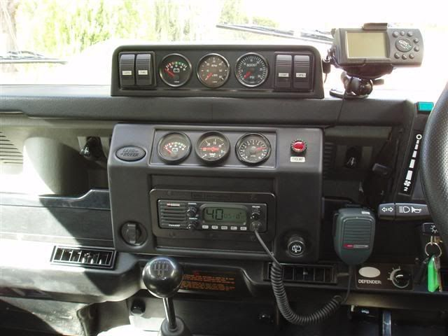 Aussie110 Uploaded This Image To Dash Pod See The Album On Photobucket Land Rover Defender Land Rover Defender Interior Land Rover