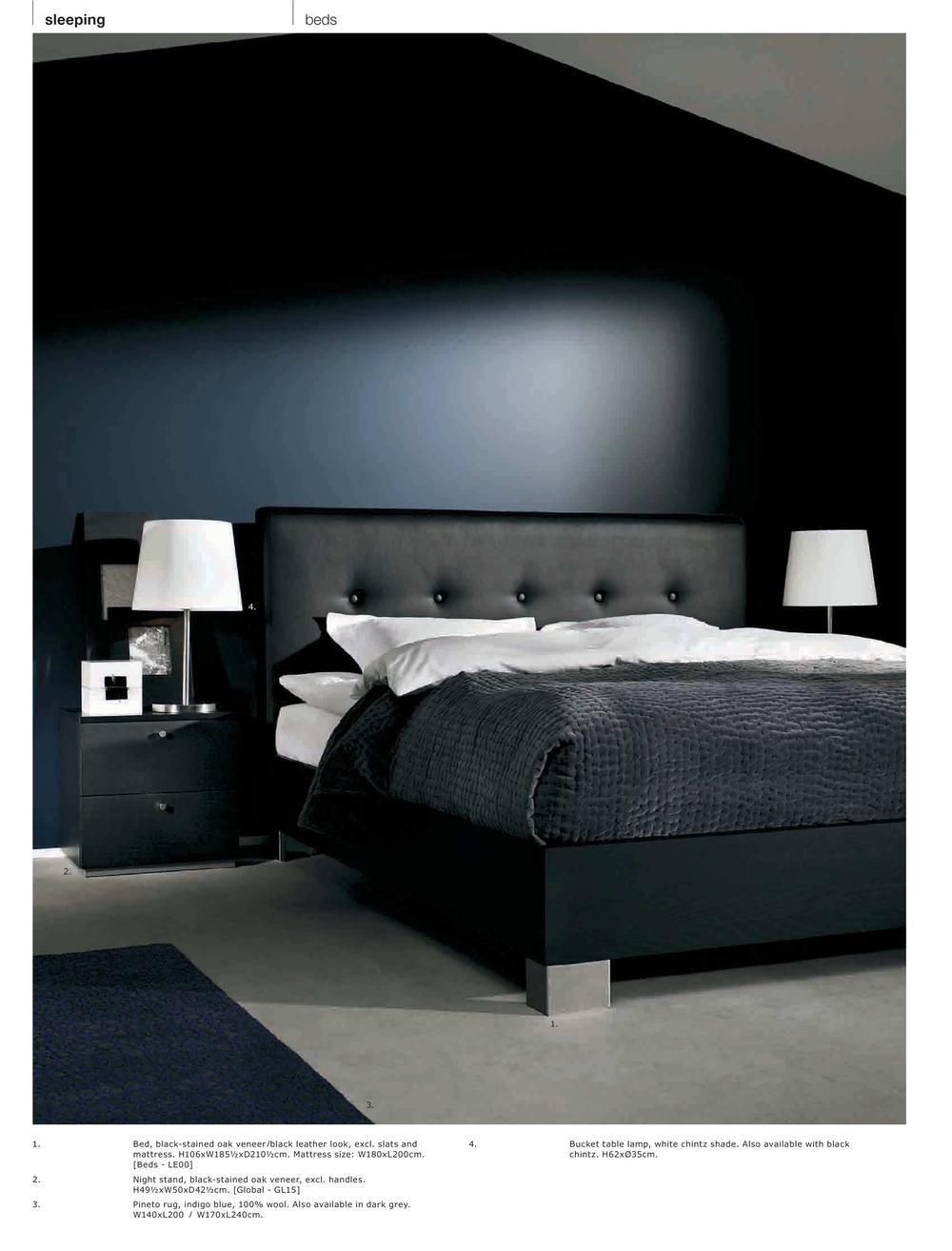 Danish Modern Bedroom Furniture: Sueña BoConcept