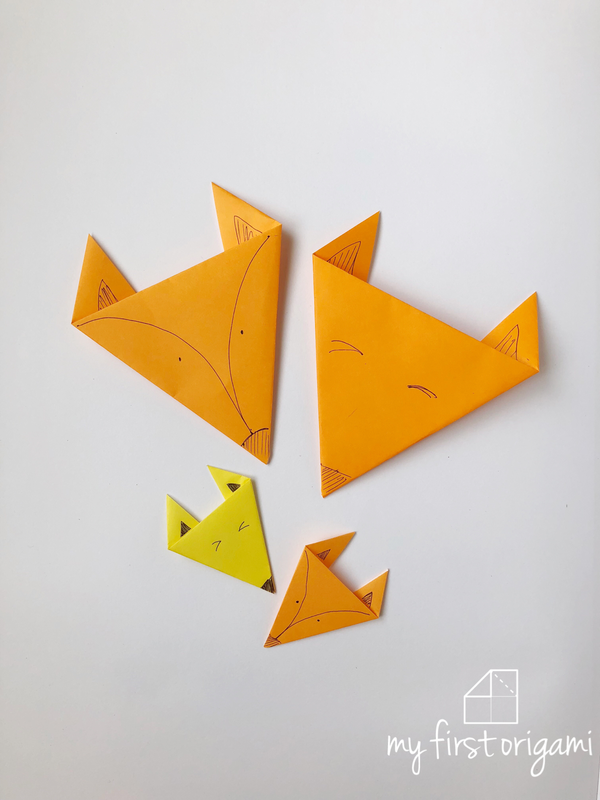 How To Fold Easy Origami Fox This Is Another Easy Animal Origami