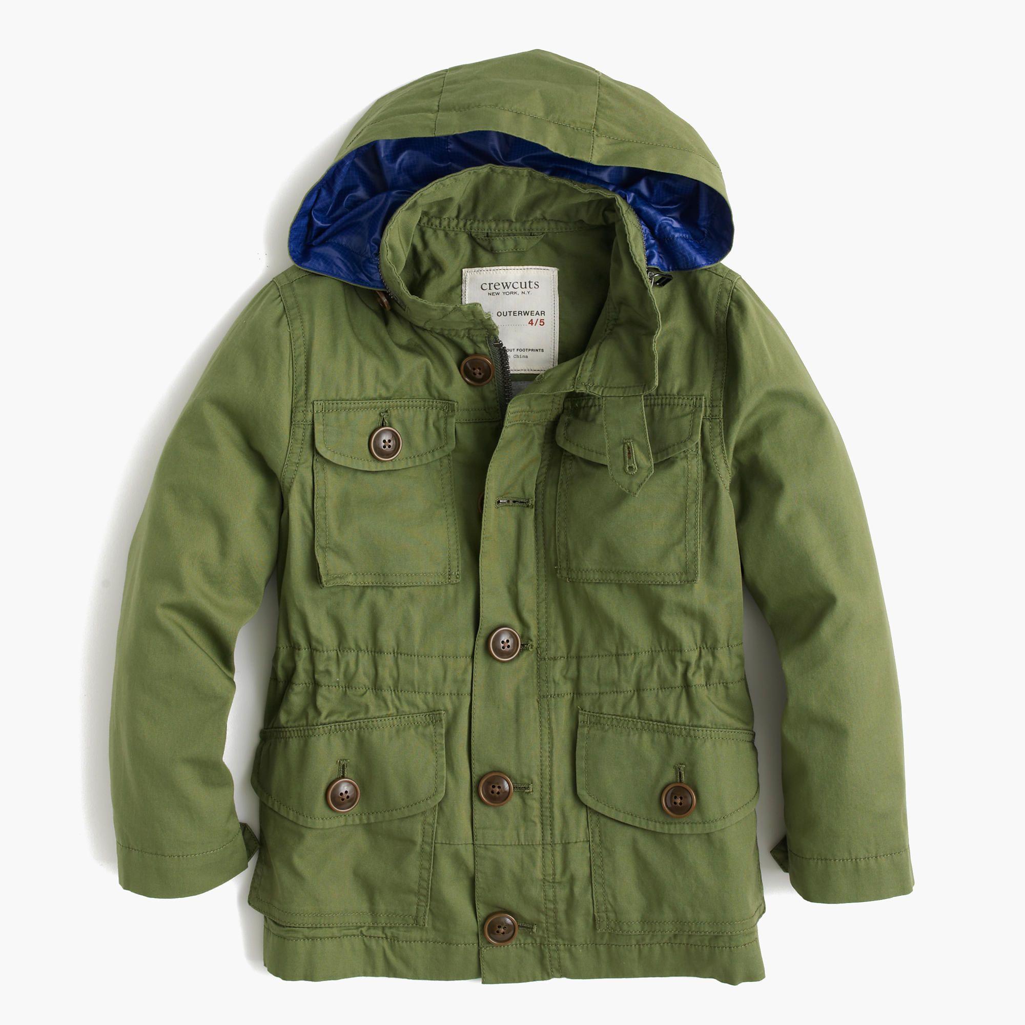 Kids Field Mechanic Jacket Lightweight Denim J Crew Mechanics Jacket Jackets Kids Outerwear [ 2000 x 2000 Pixel ]