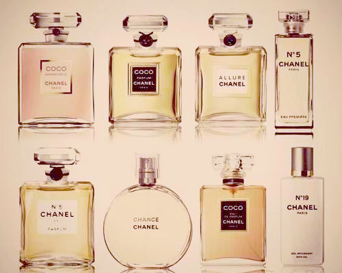 Chanel fragrances ... Classic scents that transcends time...