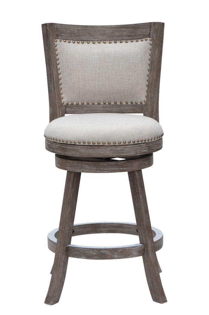 Hettinger 24 Swivel Bar Stool With Cushion Upholstered Bar