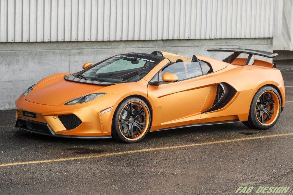 Awesome FAB Design McLaren MP4 12C Spider Terso Nice Design Aggressive Stance  Http:// Amazing Ideas