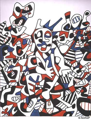 Site to the man sitting - Jean Dubuffet | paintings | Pinterest ...