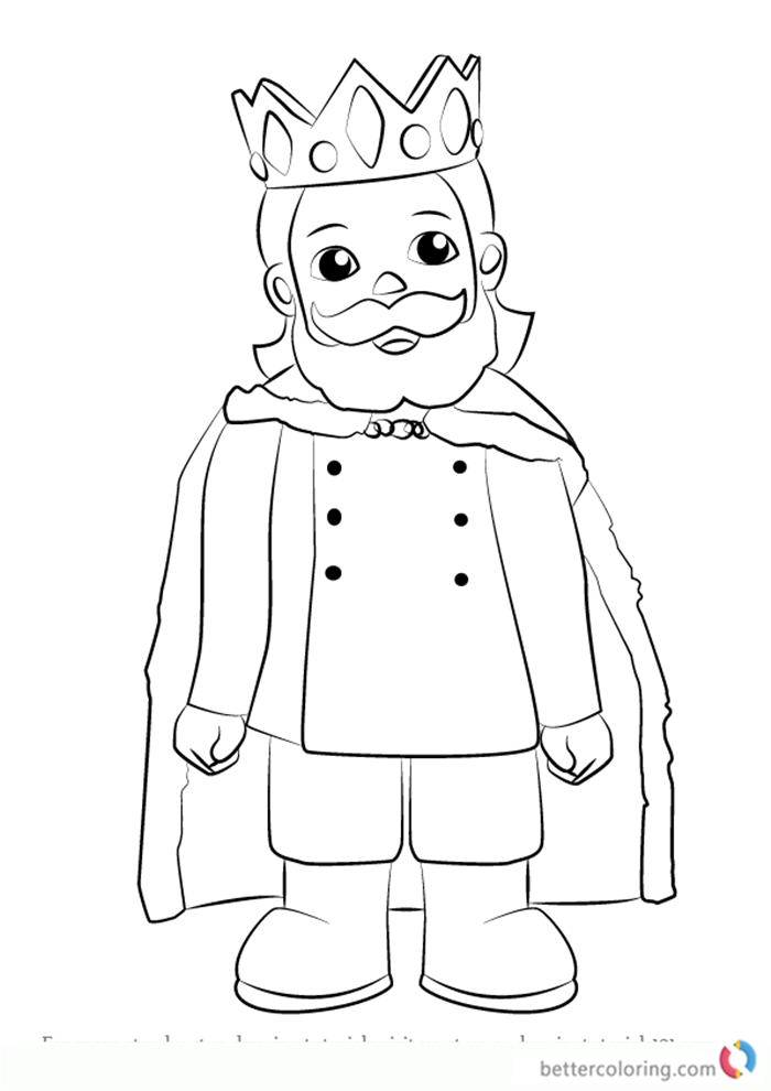King Friday Xiii Form Daniel Tiger S Neighborhood Coloring Pages Free To Print Daniel Tiger Daniel Tiger S Neighborhood Easy Drawings