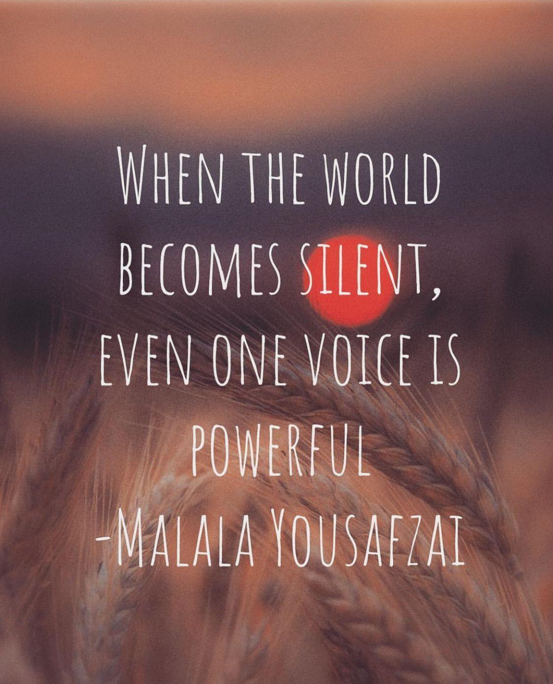 malala yousafzai quotes💫