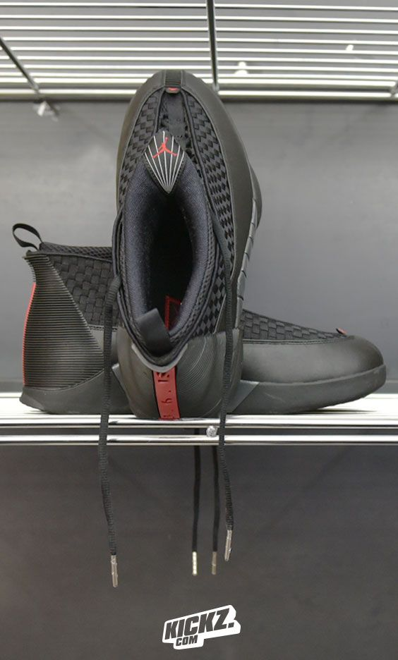 The first pair of Js that was not worn on a NBA court by His Airness himself after he retired in 1999 - the Jordan XV - came back strong last weekend!