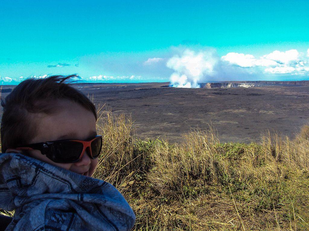 Photo Adventure - Hawaii's Volcanoes National Park with Children