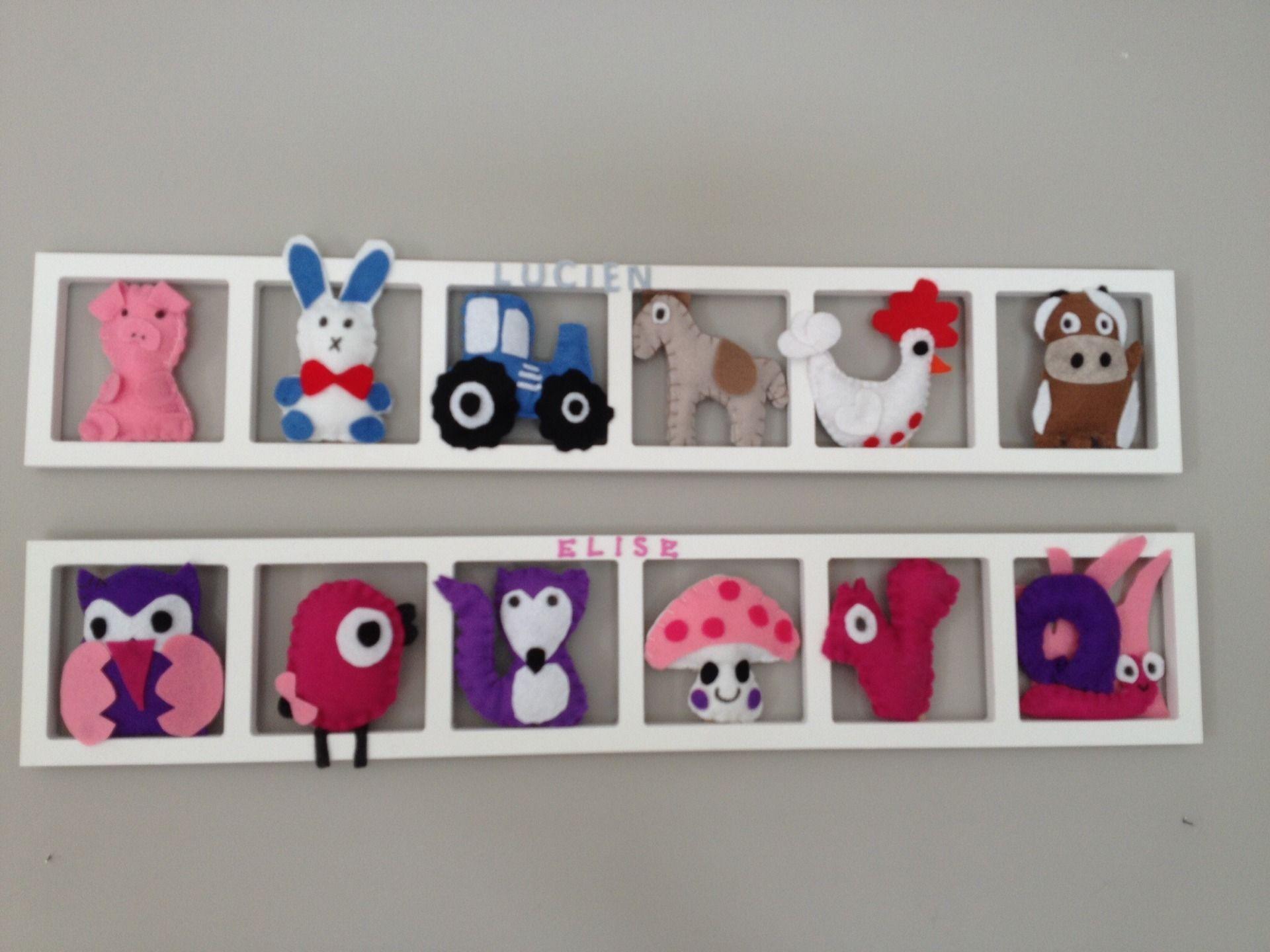Deco chambre fille hiboux chouettes rose mauve cadeau naissance personnalise cadre mural - Cadre photo chambre bebe ...
