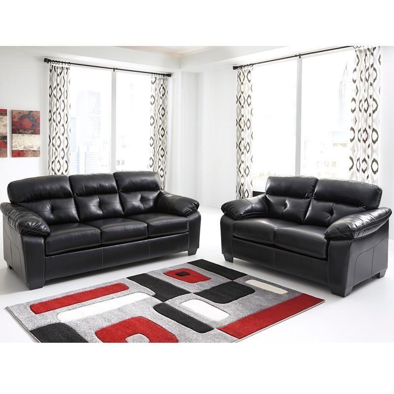 Phenomenal Benchcraft Bastrop Living Room Set In Midnight Durablend Machost Co Dining Chair Design Ideas Machostcouk
