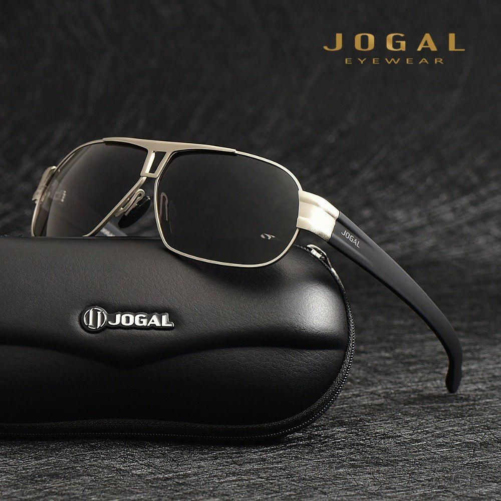 ae09eb9f17 JOGAL Brand Designer Men s Sunglasses Polarized Len Sun Glasses Male  Eyewear Accessories For Men oculos de