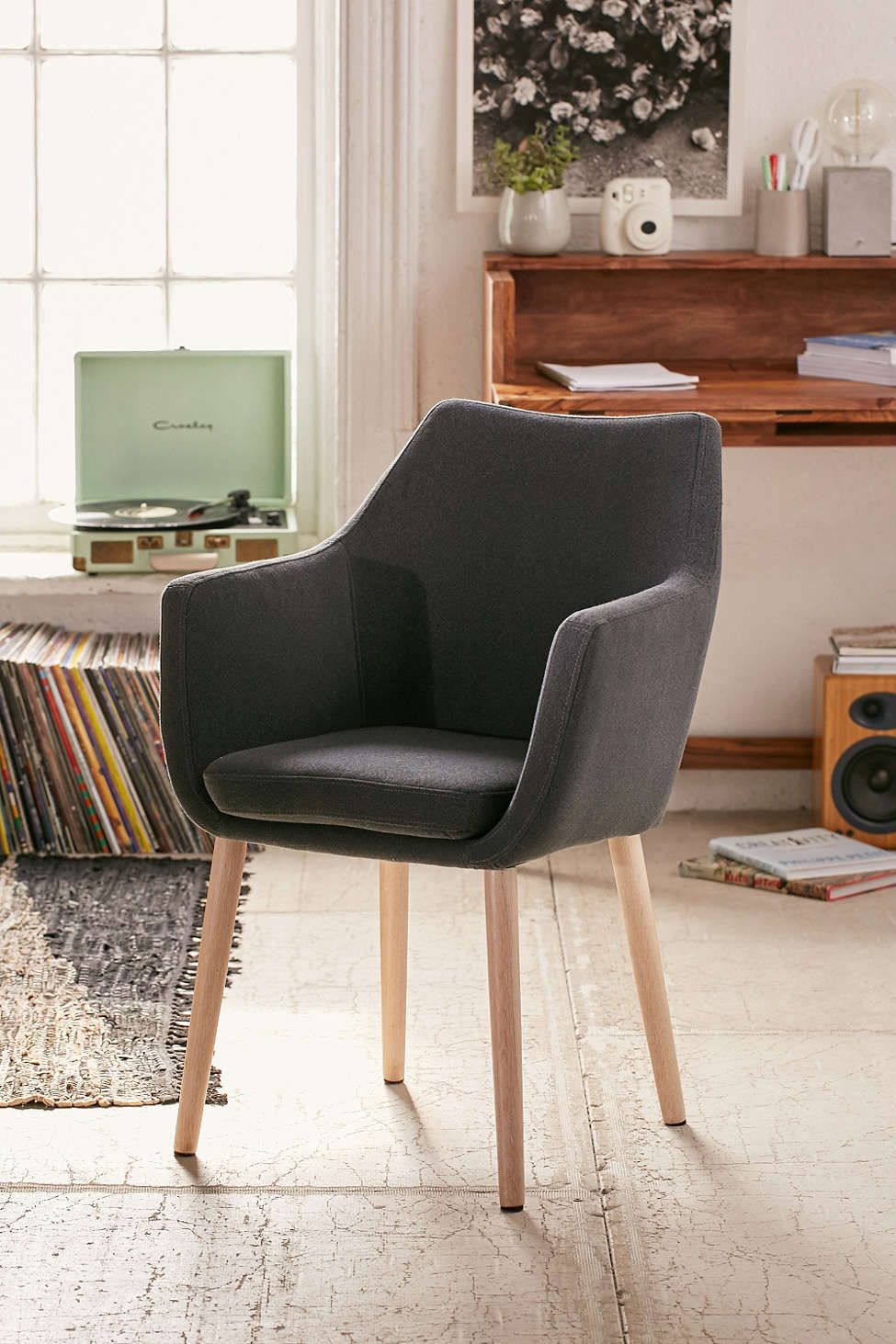 Best Nora Brown Saddle Chair Saddle Chair Accent Chairs For 400 x 300