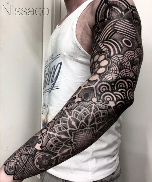 36 Perfect Sleeve Tattoos for Guys With Style - TattooBlend