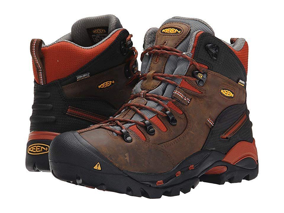 Keen Utility Pittsburgh Soft Toe Men S Work Boots Cascade