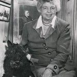Fala and Elanor Roosevelt