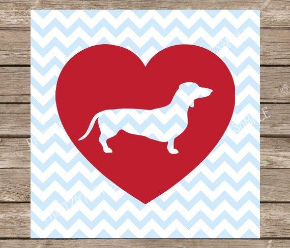 Download Dachshund, Dachshund svg, Heart, Dogs, Dog svg, Heart ...