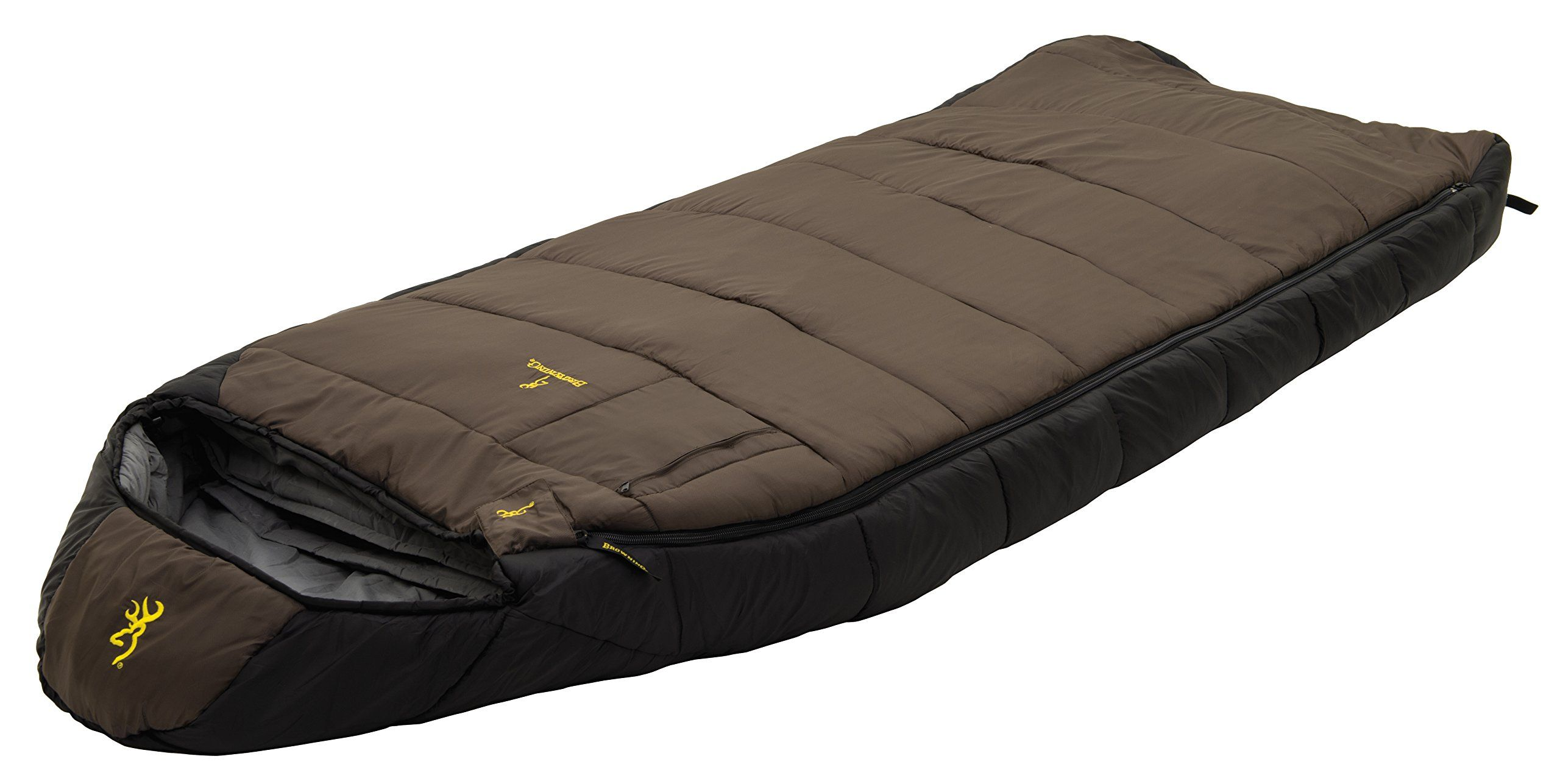 Browning Camping Mckinley 0 Degree Sleeping Bag This Best Ing Hooded Rectangle Is Great For Any Adventure