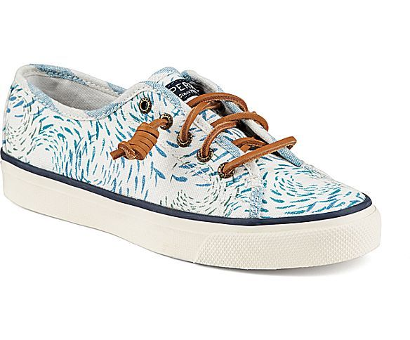 Seacoast Fish Circle Sneaker Sneakers Sperry Top Sider Shoes Sperrys