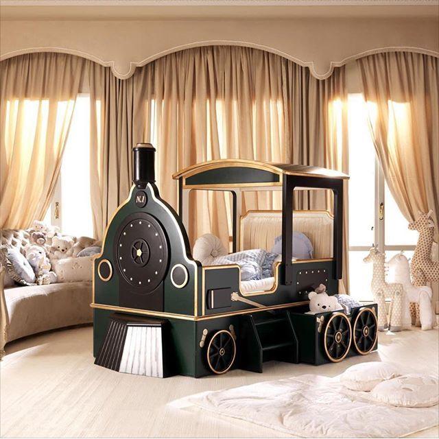 Train Bedroom Decor: Absolutely Love This? @childrenslane