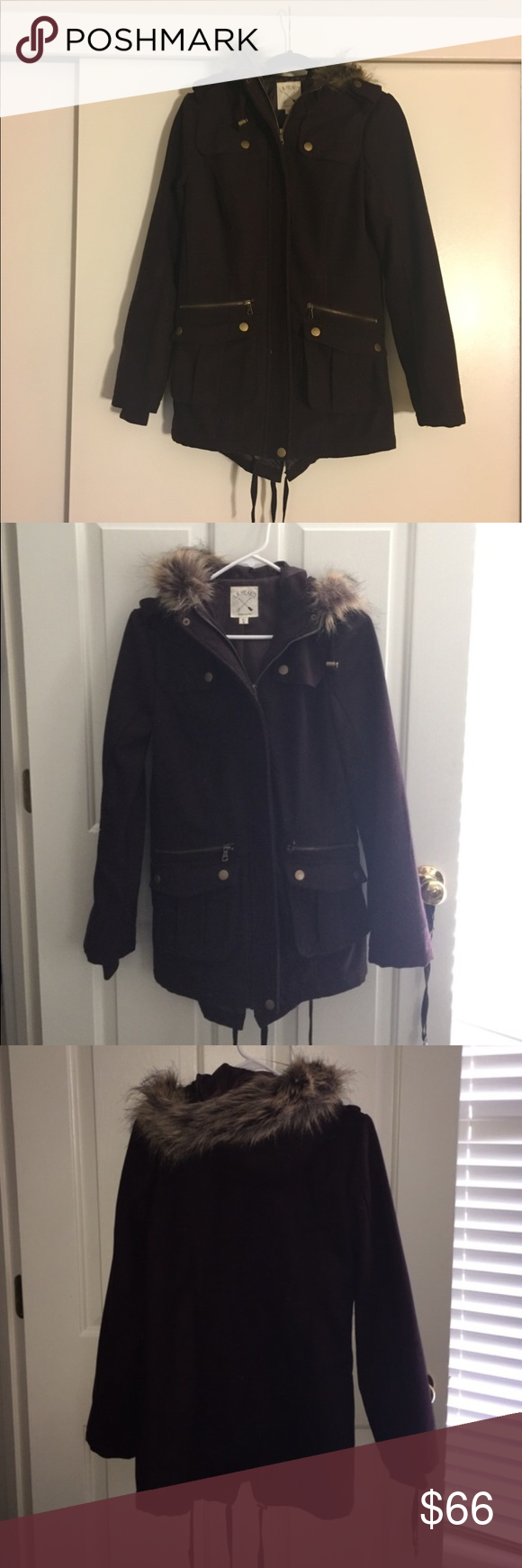 LA Hearts Anorak Super cute and in great condition, purple LA Hearts Anorak from PacSun. Perfect to pair with any outfit for a cold winter day. Open to reasonable offers, rarely worn! LA Hearts Jackets & Coats