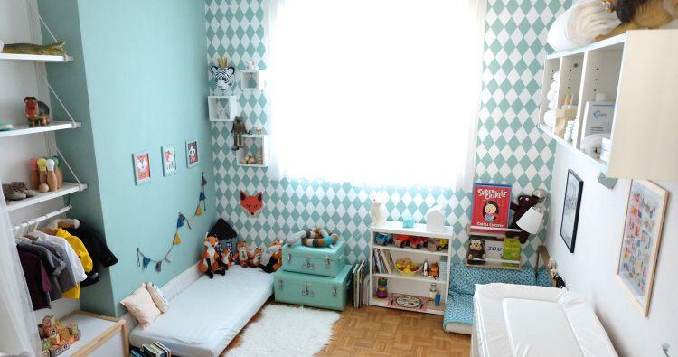 Montessori baby bedroom - Chambre bébé Montessori montessori