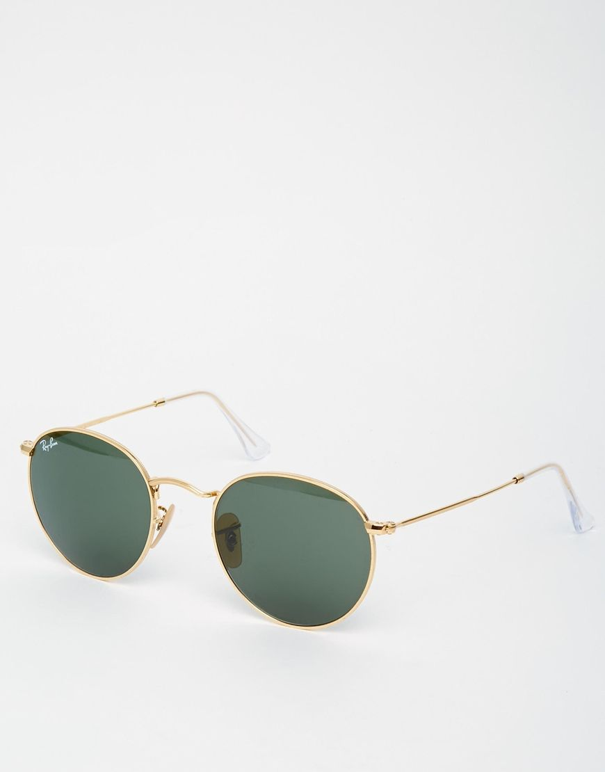Ray-Ban Round Metal Sunglasses. Ray-Ban Round Metal Sunglasses Lunettes De  Soleil ... 6ad9745725b3