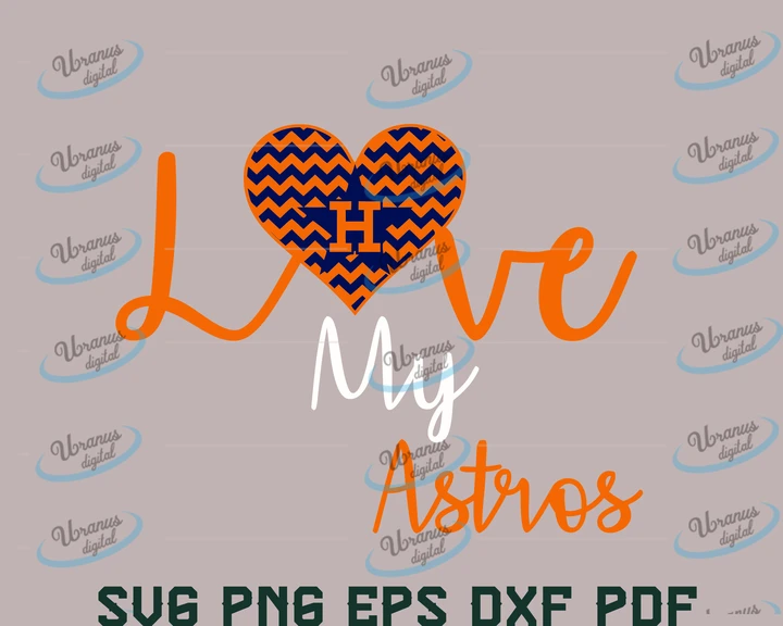 Download Love my astros SVG,SVG Files For Silhouette, Files For ...