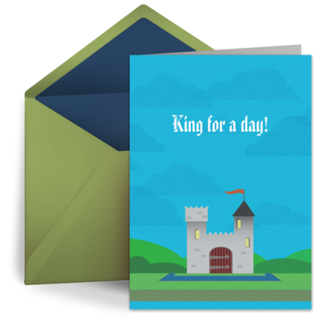 Royal Birthday Wishes From Punchbowl E Cards Pinterest