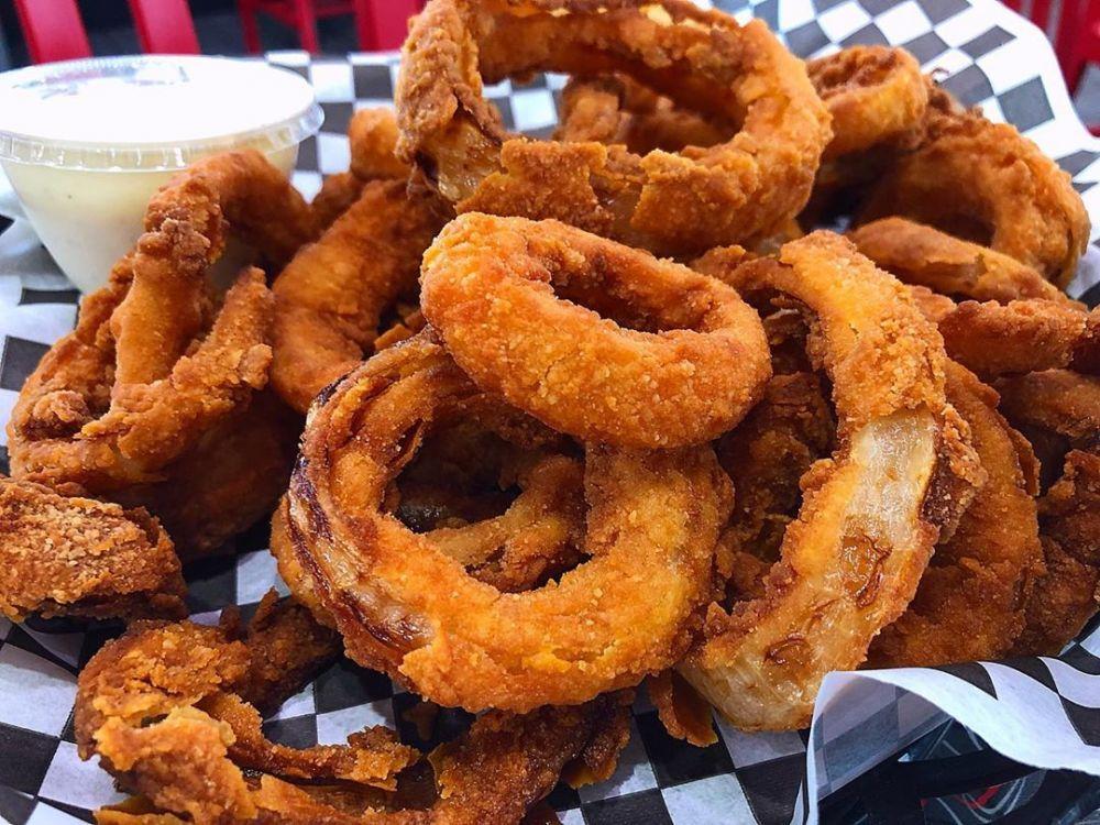 10 Cara Membuat Onion Ring Kekinian Crispy Dan Mudah Instagram Makanan Dan Minuman Makanan Enak Resep Masakan