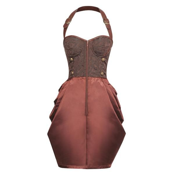 VG-18917 - Steampunk Corset Dress