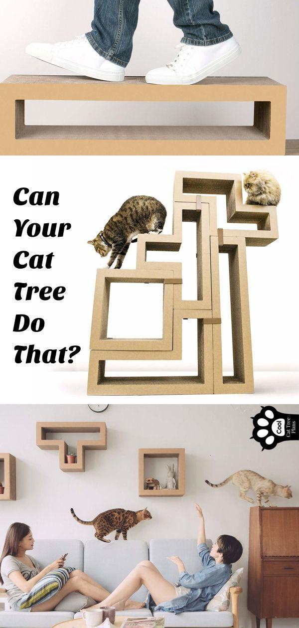 Tetris Inspired Modular Cat Tree Bloggers Post It