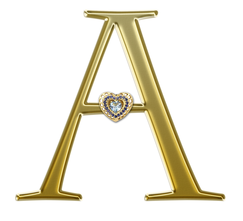 foto de Alfabeto Letras em png douradas para scrap Letras Scrap