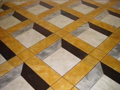 Dimensional And Graphic Flooring Pattern Architectural Flooring - 3 dimensional floors