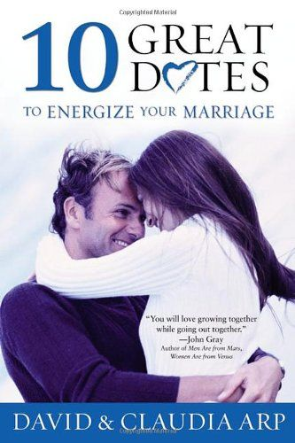 $10.39-$12.99 Baby 10 Great Dates to Energize Your Marriage - Small groups of couples can learn important skills and revitalize their marriages with this fun and unique approach.   'You will love growing together while going out together.'  -John Gray  Author of Men Are from Mars, Women Are from Venus   Remember back to your dating days---the excitement you felt? Now you can reclaim that same sp ...