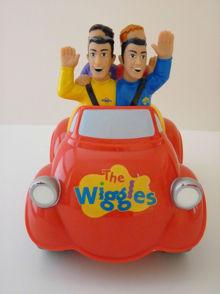 The Wiggles Toys R Us : Retired original  the wiggles push n go big red