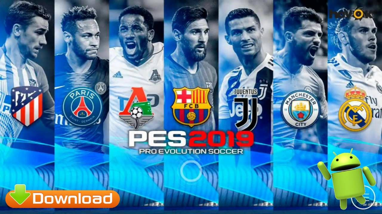 Free Download PES 2019 Mobile Android UCL Graphics Patch Best