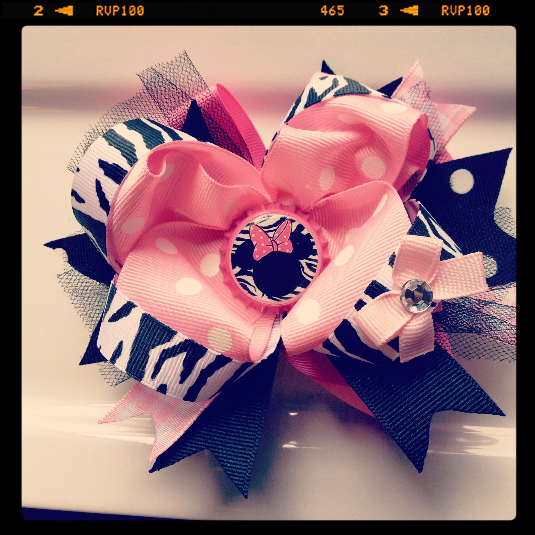 Minnie mouse ott bow facebooklollipopdesignbysig my bows