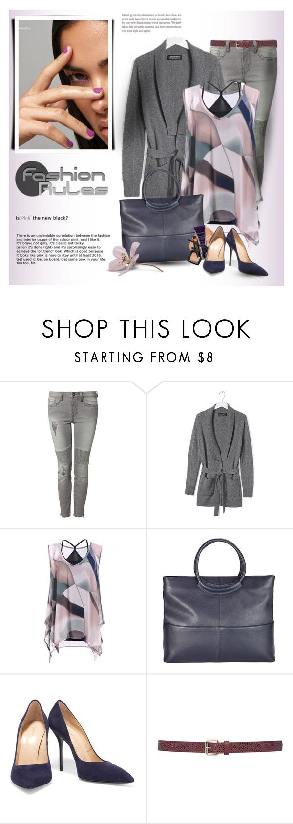 """""""***"""" by drn57 ❤ liked on Polyvore featuring Dex, Banana Republic, Kin by John Lewis, Casadei and M&Co"""