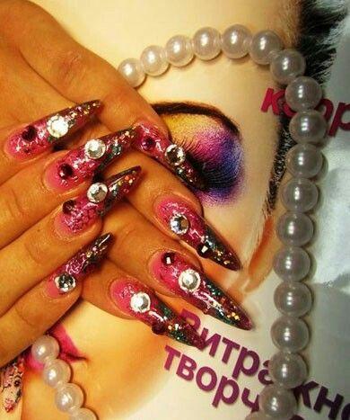 *Nail designs that caught my eye*