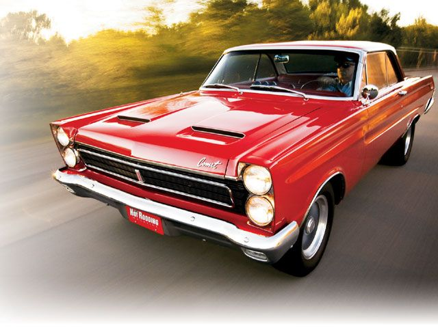 1965 Mercury Comet Cyclone Front Left View | FORDS AND MERCS