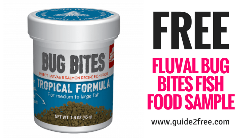 Free Fluval Bug Bites Fish Food Sample Fish Recipes Free Cat Food Bug Bites