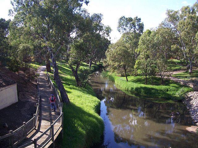 River Torrens Walk Adelaide South Australia Australia Photos South Australia